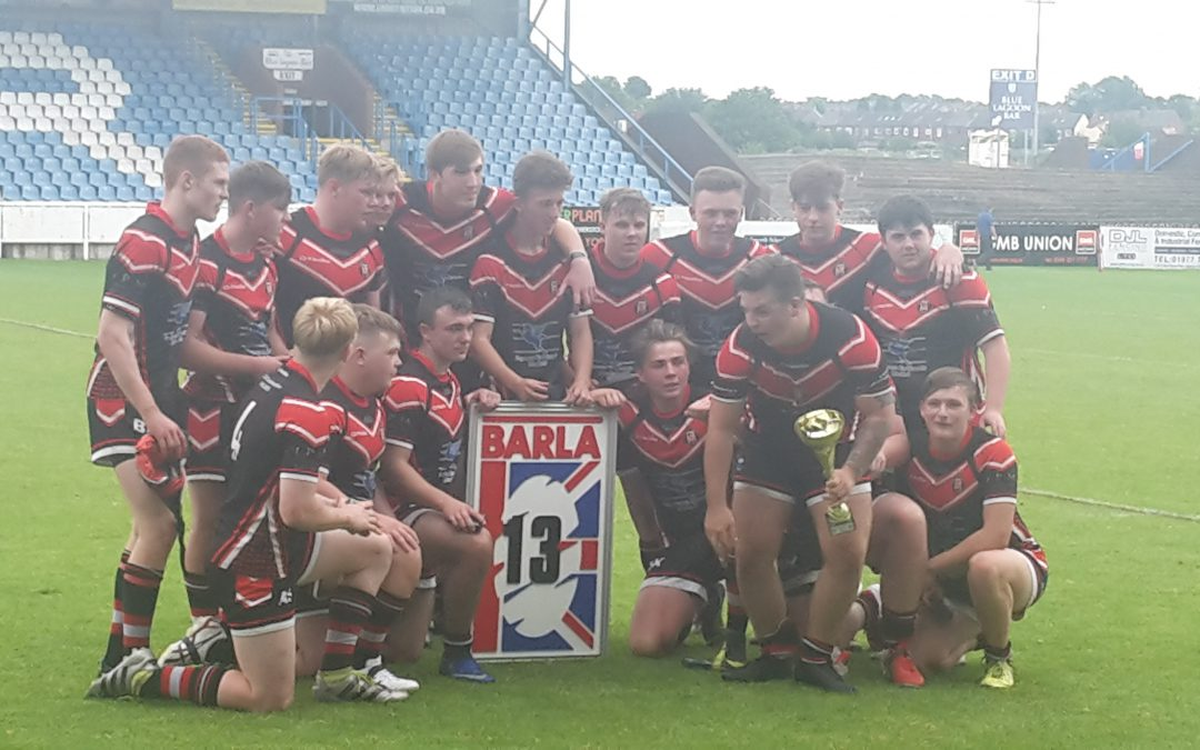 Under 18s National Cup Winners 2017!